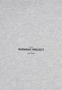 GARMENT PROJECT - CREW NECK - Mikina - grey melange - 2