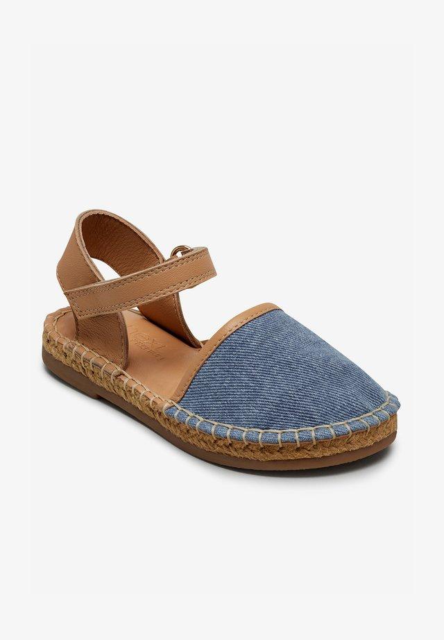 Sandály - blue denim