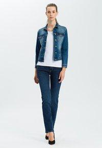 Cross Jeans - ROSE - Straight leg jeans - dark-used - 1