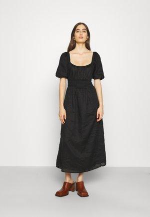 SHAY MIDI DRESS - Day dress - plain black