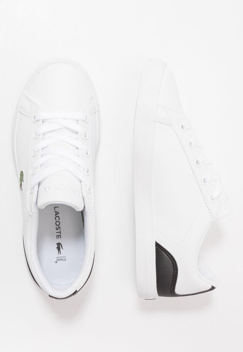 Lacoste - LEROND - Trainers - white/black