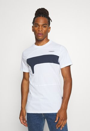 ONE CUT AND SEWN  - Print T-shirt - white