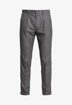 STAND ALONE CHECK - Pantalón de traje - grey