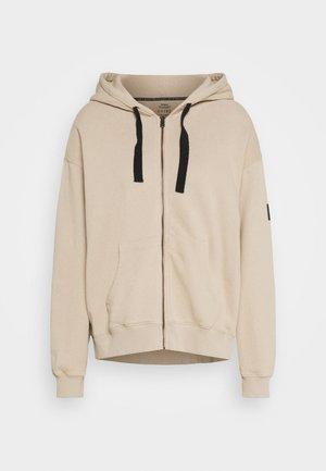 SEISER HOODIE WOMAN - Zip-up hoodie - beige