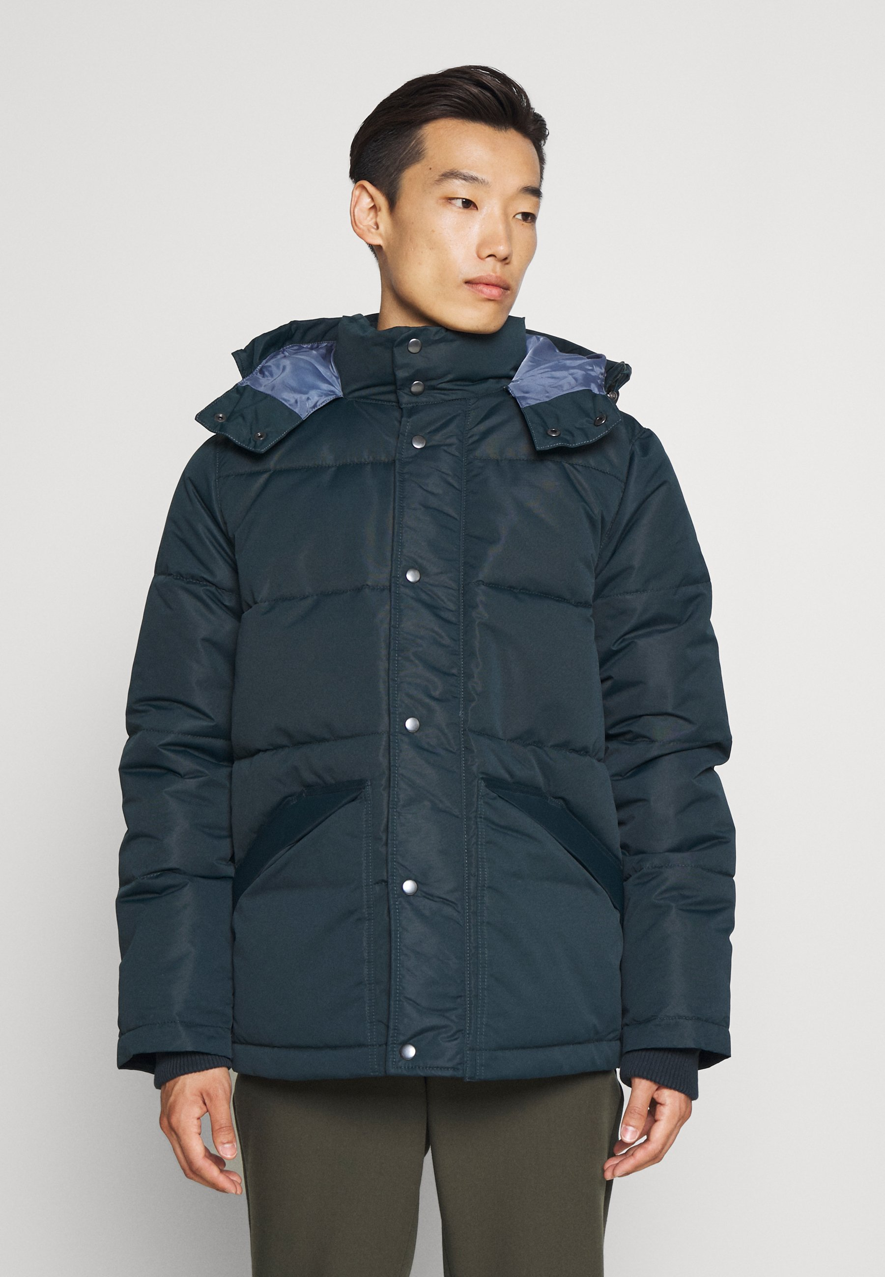 Uomo HOODED HEAVYWEIGHT PUFFER - Giacca invernale