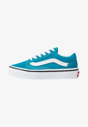 OLD SKOOL UNISEX - Sneakersy niskie - caribbean sea/true white