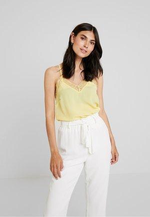 Bluse - yellow