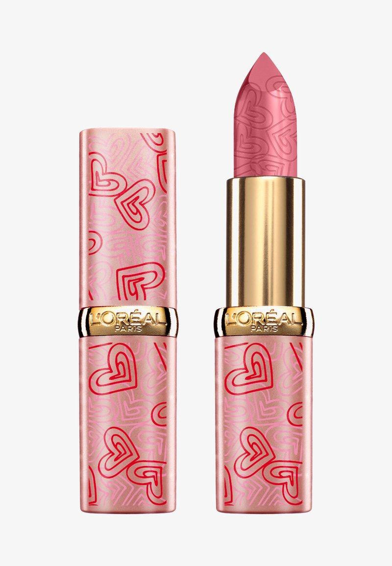 L'Oréal Paris - COLOR RICHE SATIN LIMITED EDITION - Rouge à lèvres - 303 rose tendre