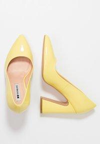 Even&Odd - Escarpins à talons hauts - yellow - 3