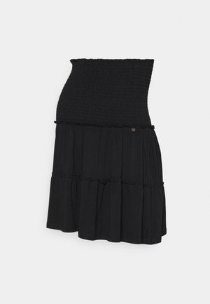 SKIRT RUFFLES - Minifalda - black