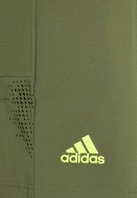 adidas Performance - ERGO SHORT  - Korte sportsbukser - olive - 2