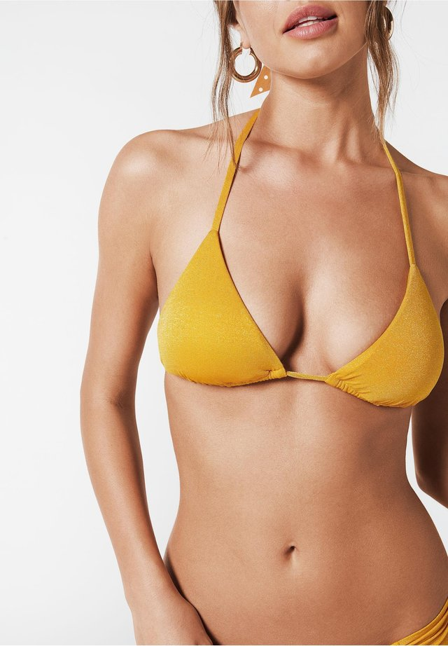IRENE - Haut de bikini - gelb - 194c - sand yellow shine