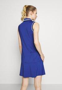 Polo Ralph Lauren Golf - DRESS SLEEVELESS CASUAL - Sportovní šaty - royal navy - 2