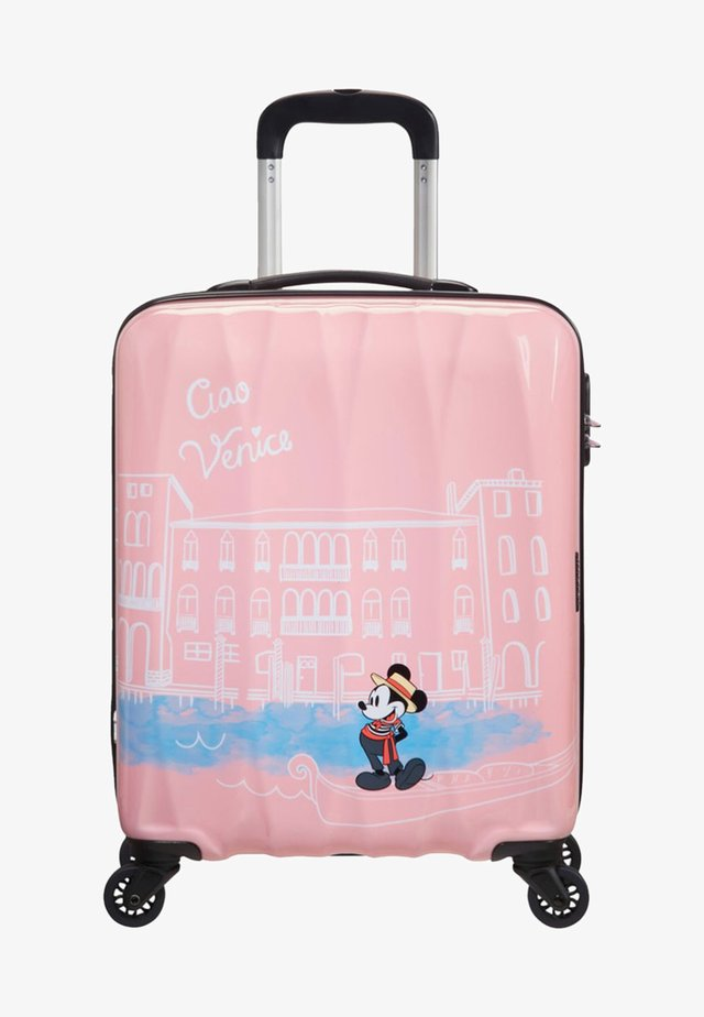 DISNEY LEGENDS ALFATWIST - Wheeled suitcase - light pink