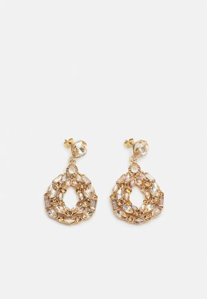 PCKAZIME EARRINGS  - Kolczyki - gold-coloured