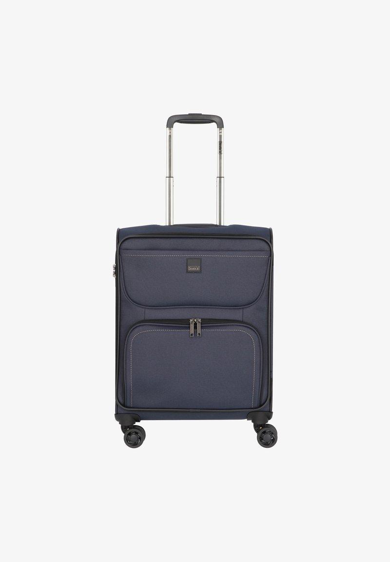 Stratic - BENDINGO LIGHT 4-ROLLEN  - Wheeled suitcase - navy