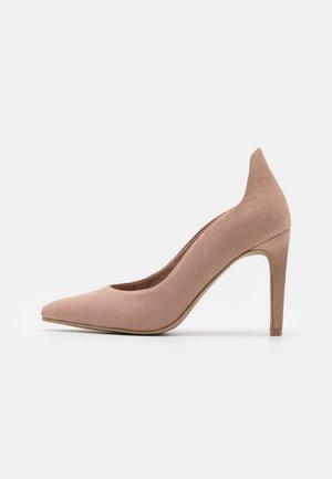 COURT SHOE - High heels - nude