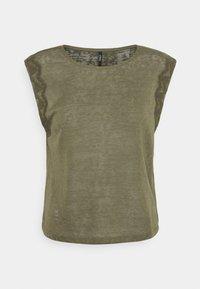 ONLY Petite - ONLCELINE MIX - Camiseta estampada - kalamata - 0