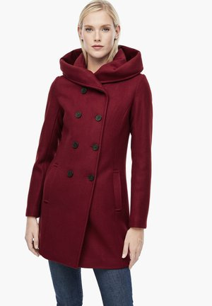 Manteau court - dark red