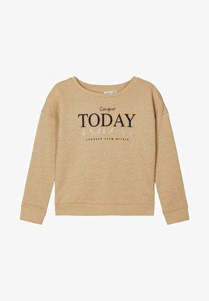 Sweater - brown rice