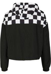 Urban Classics - DAMEN - Summer jacket - black/white - 1