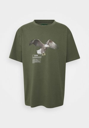 EAGLE GRAPHIC UNISEX - T-shirt con stampa - brown