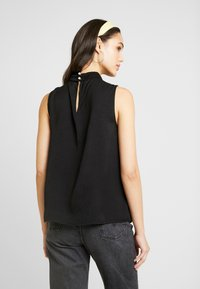 Vero Moda - VMSILLE HIGH NECK - Bluse - black - 2
