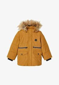Name it - Winter jacket - bronze - 0