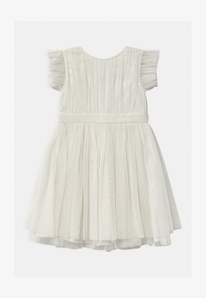 GATHERED WITH BOW - Vestito elegante - ivory