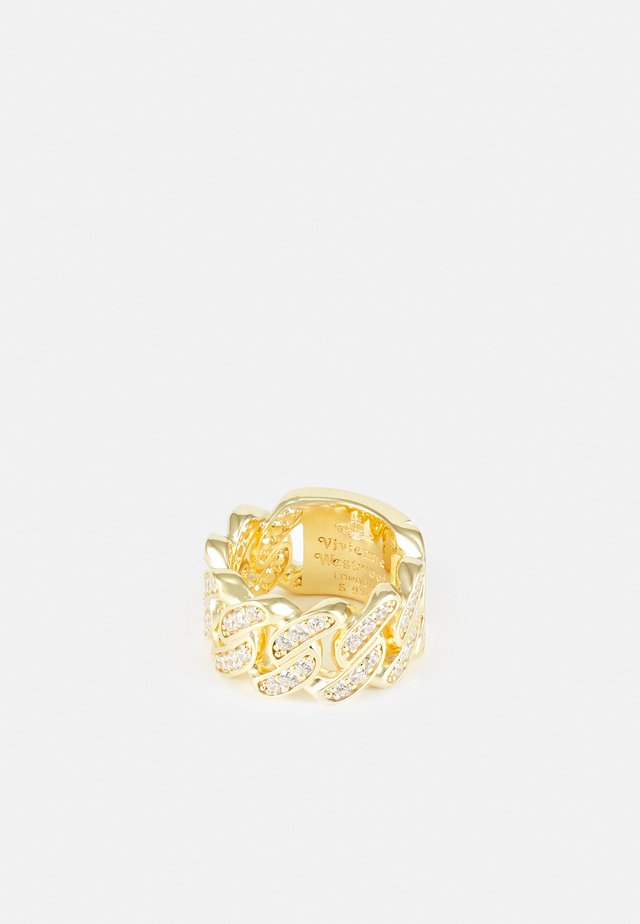 ROY RING UNISEX - Prsten - gold-coloured