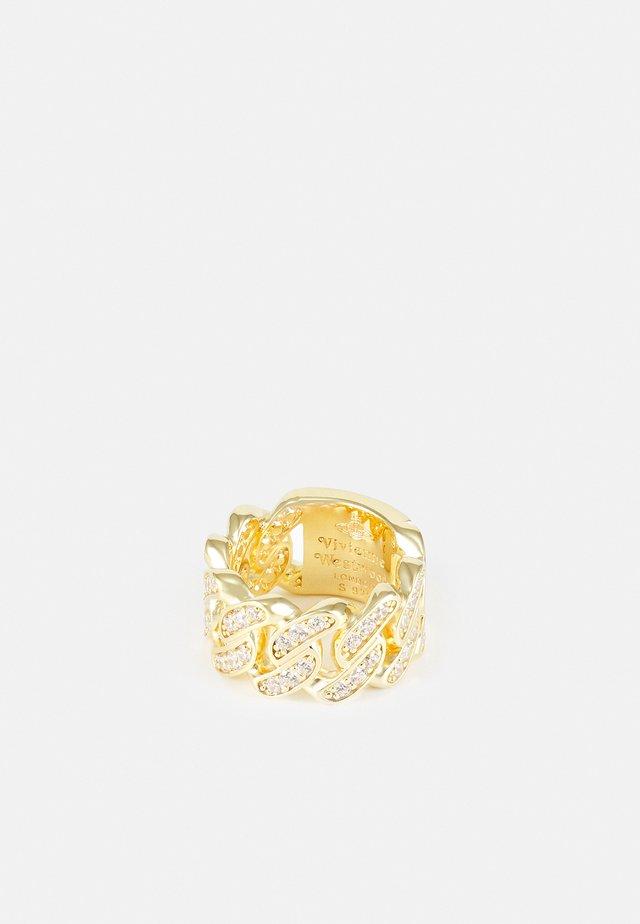 ROY RING UNISEX - Bague - gold-coloured