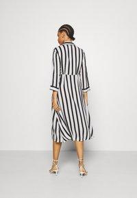 YAS - YASSAVANNA  - Shirt dress - black/white - 2