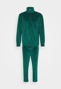 Another Influence - TOMAS ZIP THROUGH TRACKSUIT - Tracksuit - green - 0