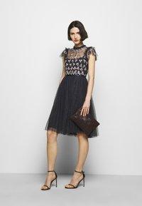 Needle & Thread - ROCOCO BODICE MIDI DRESS - Cocktail dress / Party dress - sapphire sky - 1
