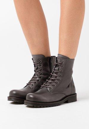 SUN - Šněrovací kotníkové boty - dark grey