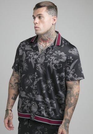 HAWAII BOWLING SHIRT - Skjorta - black