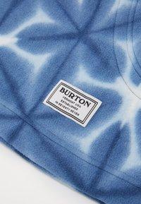 Burton - BURKE HOOD - Beanie - blue dailola shibori - 3