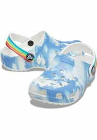 Crocs - CLASSIC OUT OF THIS WORLD - Pool slides - white - 4