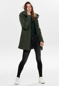 ONLY - ONLSEDONA COAT - Cappotto corto - forest night - 1