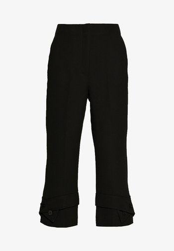 TROUSERS BELTED CUFF