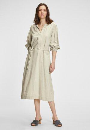 Jersey dress - off white
