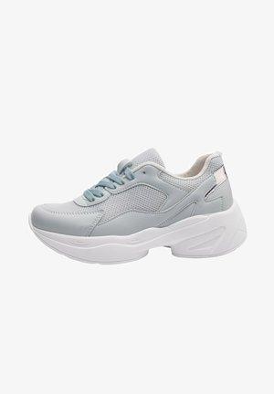 Sneakers laag - l.blue