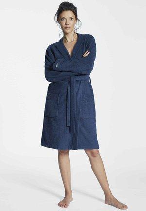 MIT KAPUZE - Dressing gown - dark blue