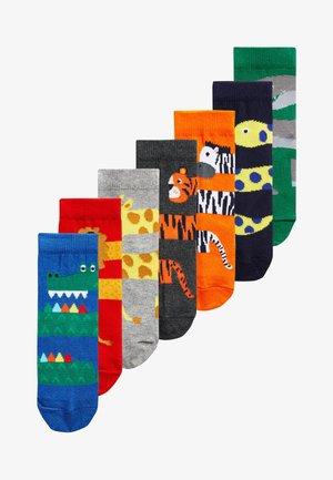 7 PACK SOCKS - Socks - blue