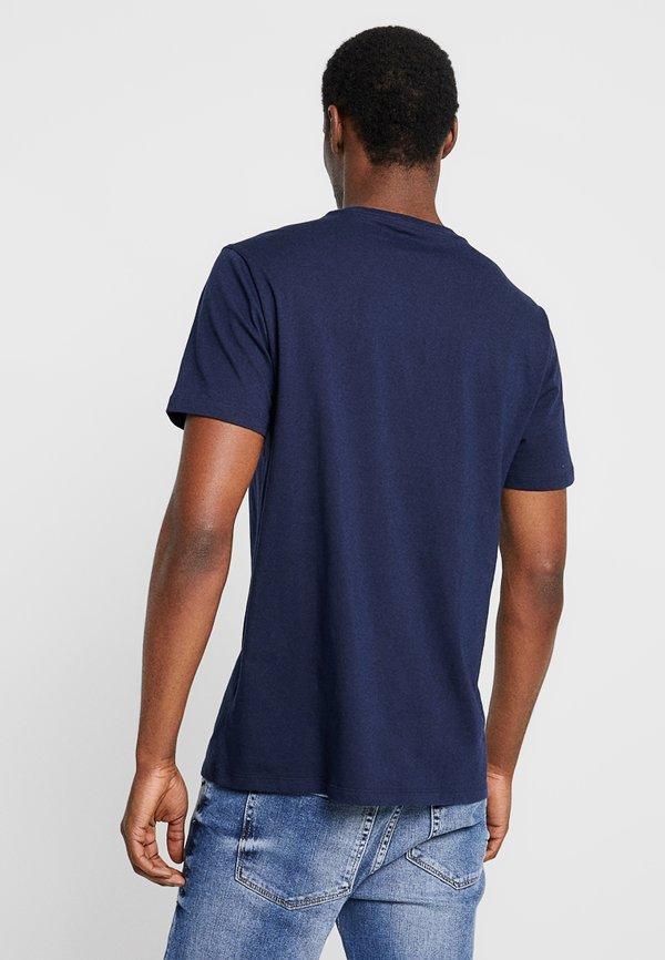 GAP ORIG ARCH - T-shirt z nadrukiem - tapestry navy/granatowy Odzież Męska WHGH