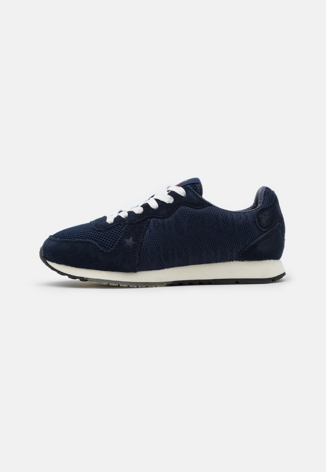 RETRO LOGO RUNNER - Trainers - navy