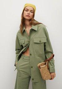 Mango - Summer jacket - khaki - 4