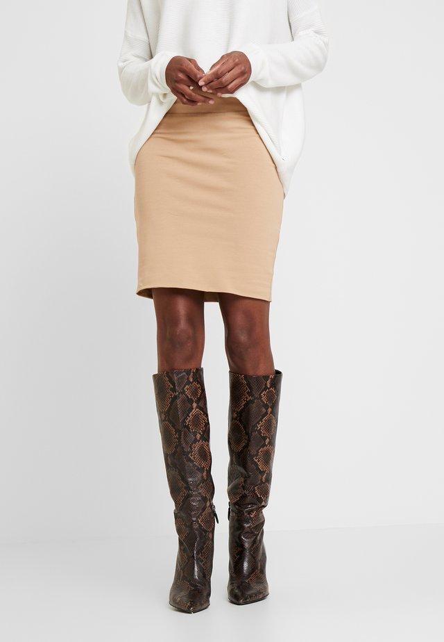 PENNY SKIRT - Pencil skirt - tannin