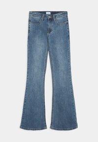Grunt - VINTAGE - Flared Jeans - acid blue - 0
