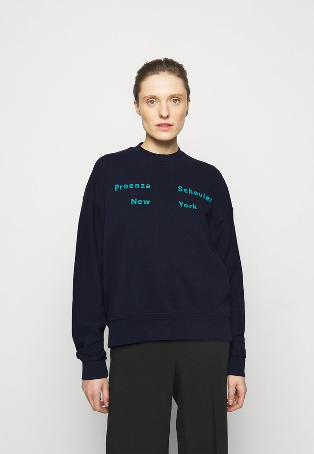 LONG SLEEVE - Sweater - navy